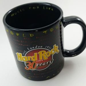 Hard Rock World Tour 30th Anniversary Coffe